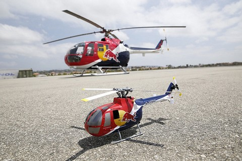 Red Bull BO-105 CB